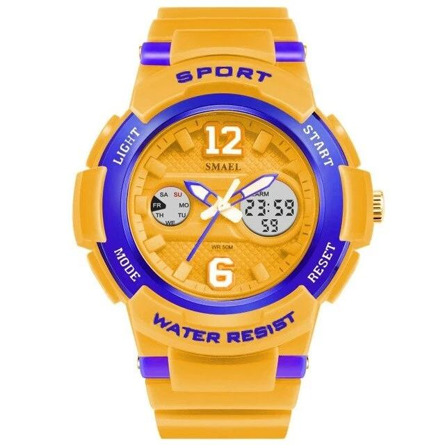 SMAEL PU Sports Watch