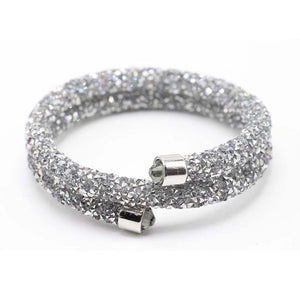 Exquisite Circle Crystal Bracelet