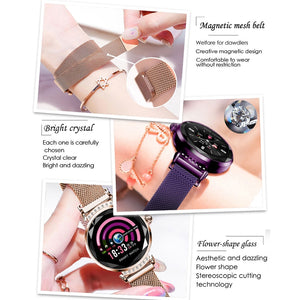 Diamond Glass Luxury SmartWatches