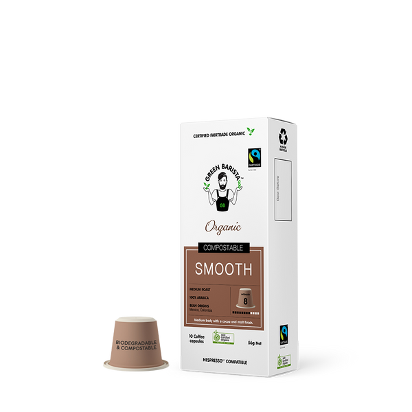 Industrially Compostable Pods - Smooth