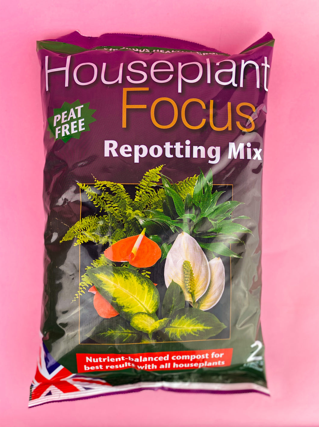 HOUSEPLANT REPOTTING MIX