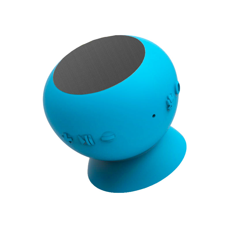 Mercury Voice Wake, Bluetooth® Speaker with Google Assistant Built-In - Blue