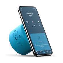 Load image into Gallery viewer, Mercury Voice Push, Bluetooth® Speaker with Google Assistant Built-In - Blue