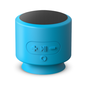 Mercury Voice Push, Bluetooth® Speaker with Google Assistant Built-In - Blue
