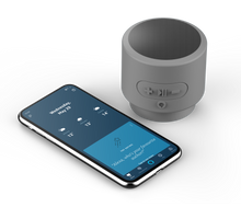 Load image into Gallery viewer, Apollo Voice Push, Bluetooth® Speaker with Alexa Built-In - Gray