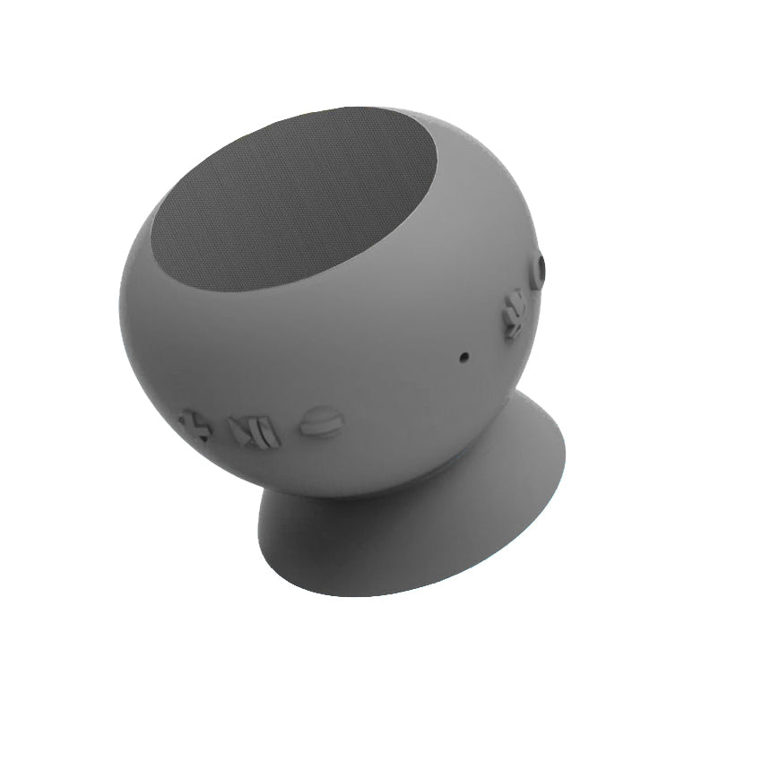 Minerva Voice Wake, Bluetooth® Speaker with Siri Built-In - Gray