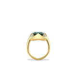 Wave Tourmaline Ring