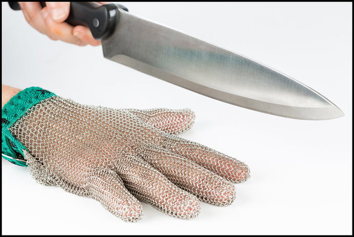 Knife Safety: A knife can be a thing of beauty but also dangerous.