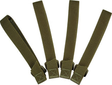 Load image into Gallery viewer, 5 inch Khaki TieTac straps