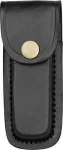 Black Leather 4 inch Belt Sheath