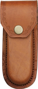 Brown Leather Knife Sheath for 5 inch knives