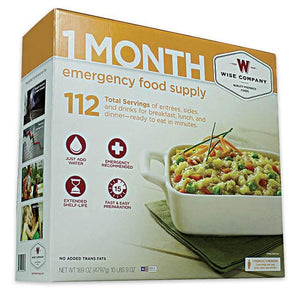 Food Survival Kit - 1 month