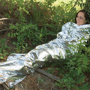 Emergency Blanket can be used as shelter