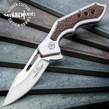 Load image into Gallery viewer, Hibben Hurricane Pocket Knife