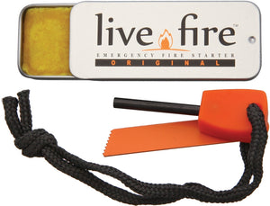Live Fire  Ring O Fire Fire Cord Survival Kits