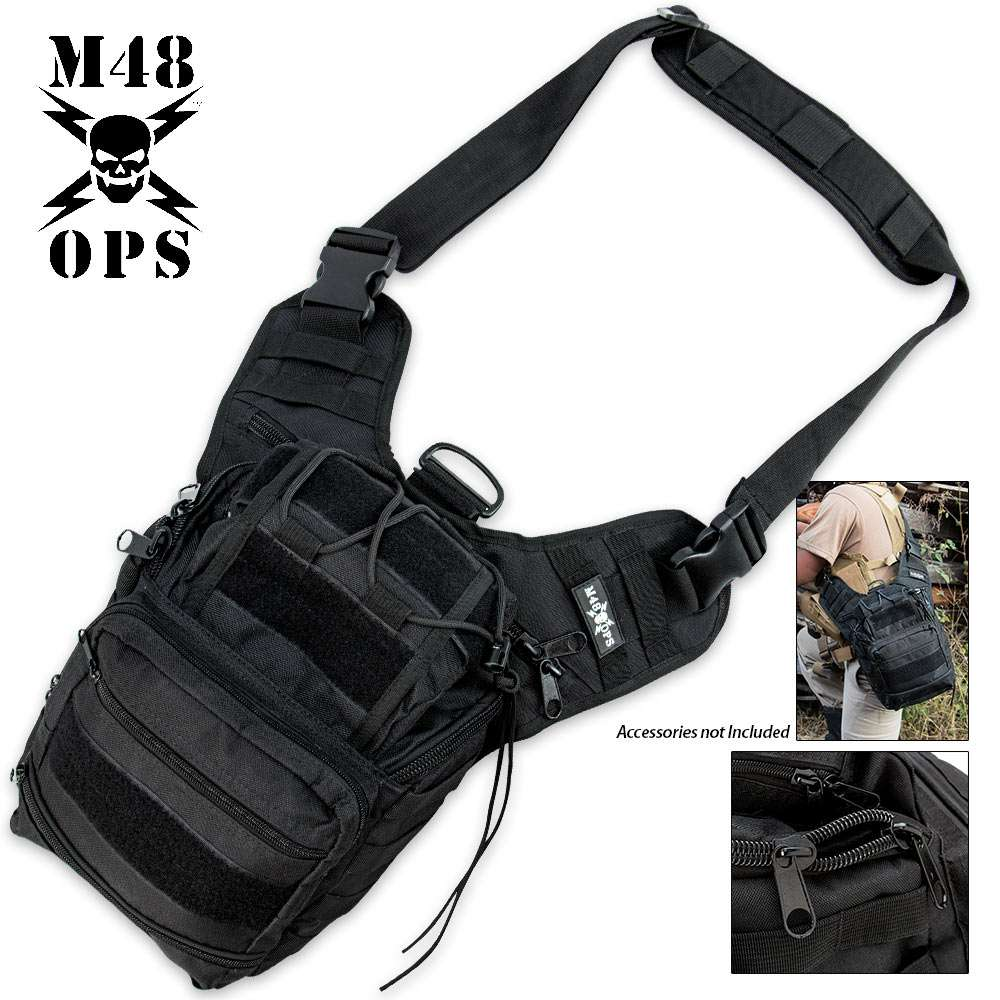 Special Ops sling Bag M48