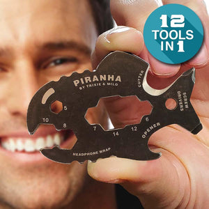 Pirhana 12 in 1 Multitool Kit