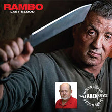 Load image into Gallery viewer, Rambo Hibben Machete