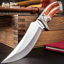 Load image into Gallery viewer, Ridge Runner Executive Wooden Fixed Blade Knife