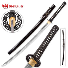 Load image into Gallery viewer, Shinwa Royal Warrior Handmade Katana