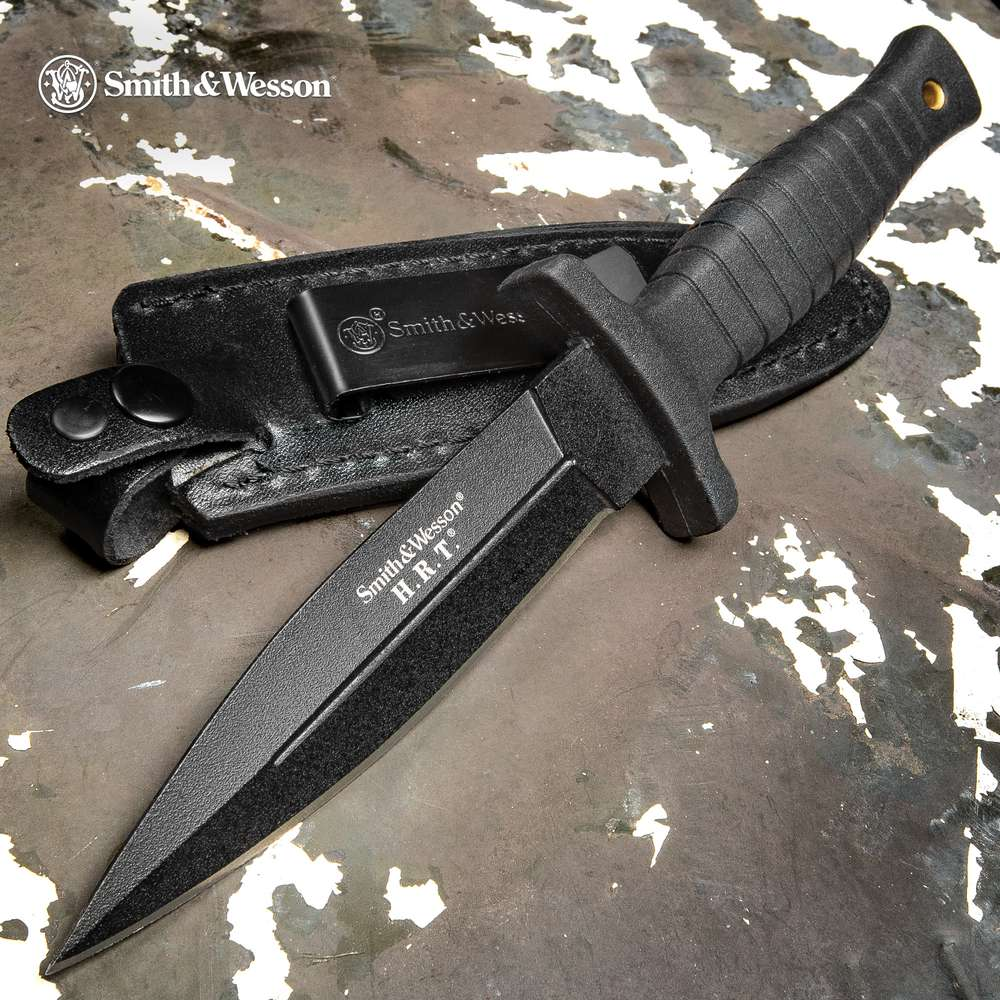 Smith & Wesson HRT Tactical Boot Knife