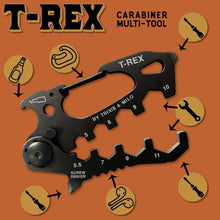 Load image into Gallery viewer, T-Rex Hex wrenches Carabiner
