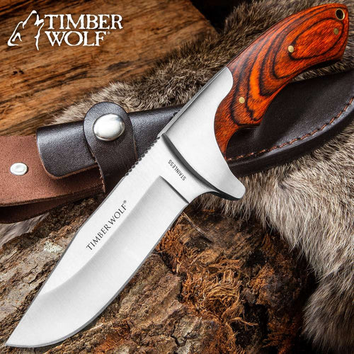 Timber Wolf Fixed Blade Knife