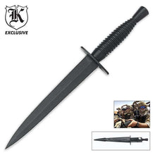Load image into Gallery viewer, Classic British Army Commando Knife