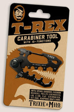 Load image into Gallery viewer, t-rex multi-tool keyring carabiner