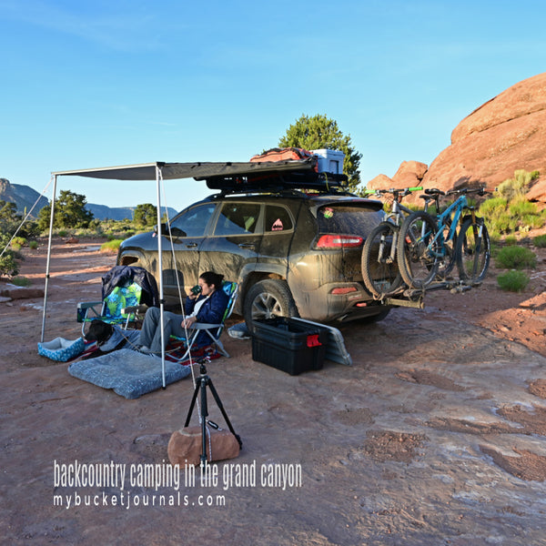 backcountry camping in the grand canyon