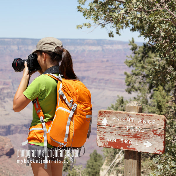 photography at bright angel trail