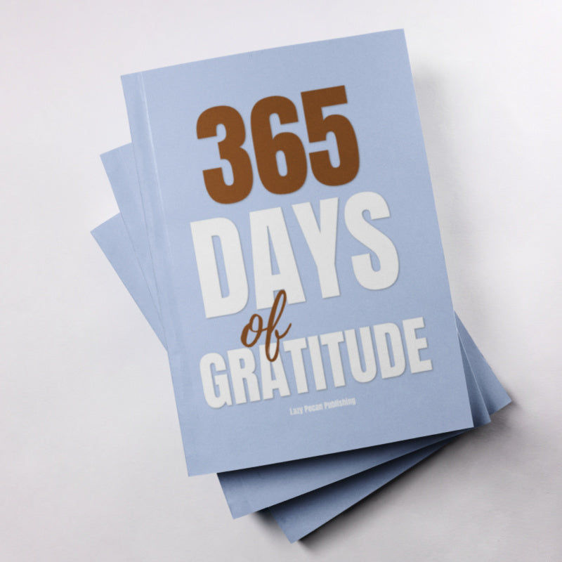 365 Days of Gratitude Journal - 6x9 Paperback