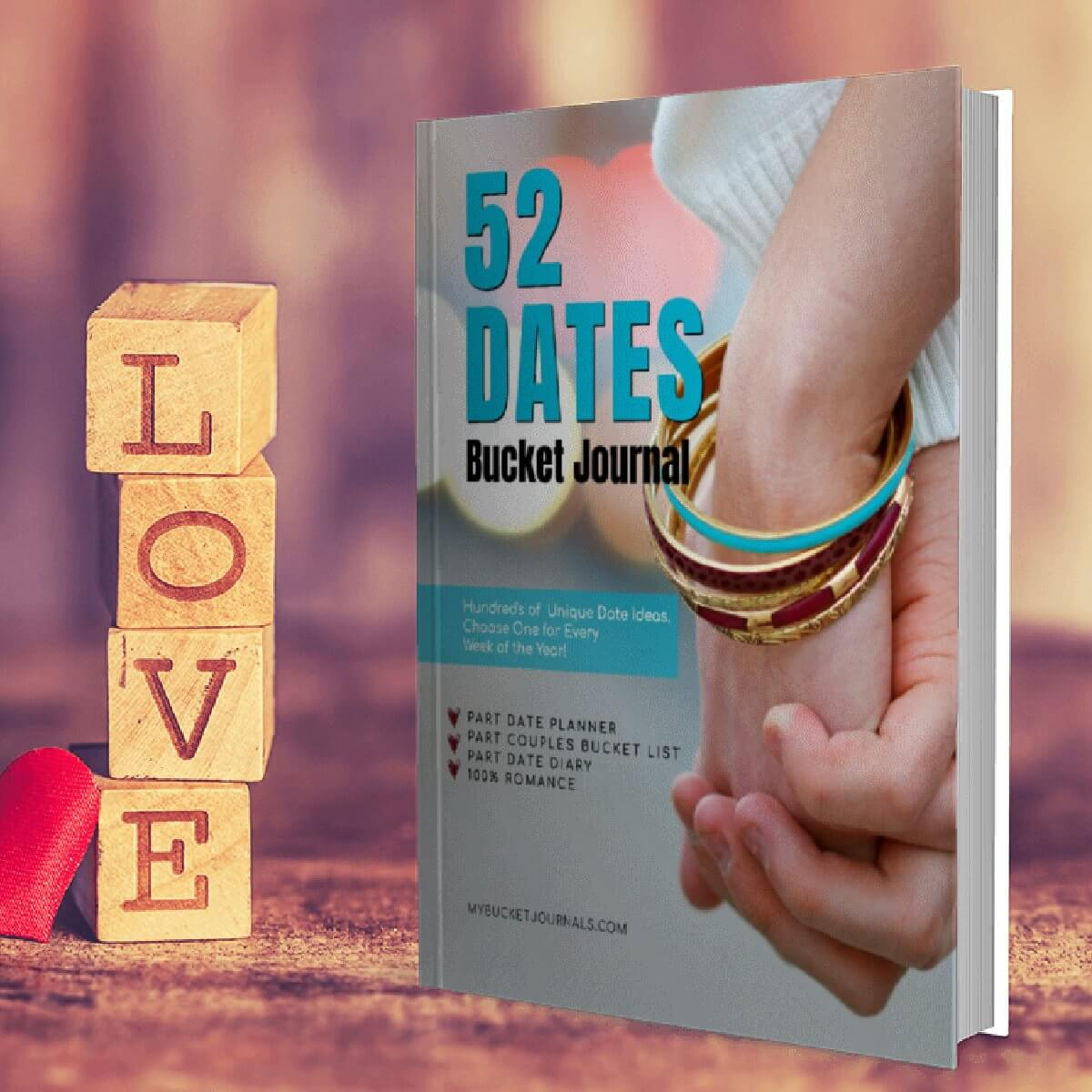 52 Dates Bucket Journal - Paperback