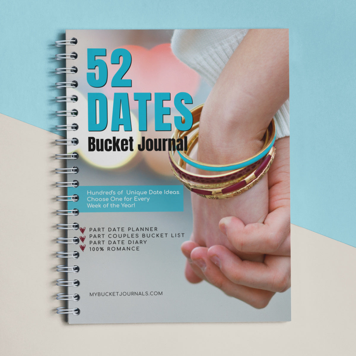 52 Dates Bucket Journal - Spiral