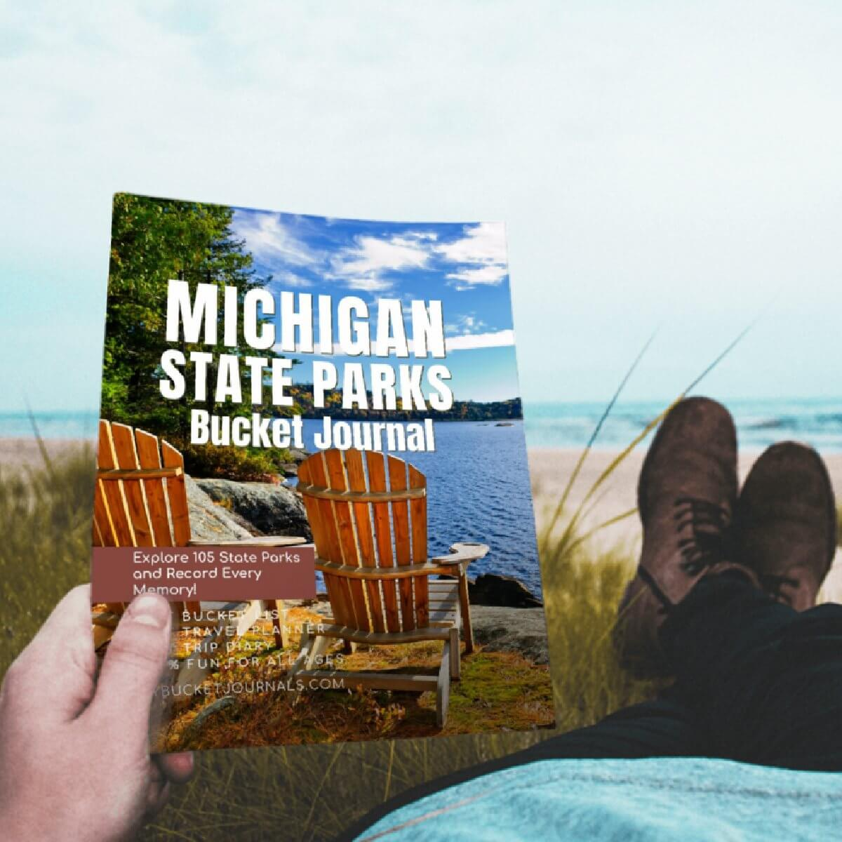 Michigan State Parks Bucket Journal - Paperback