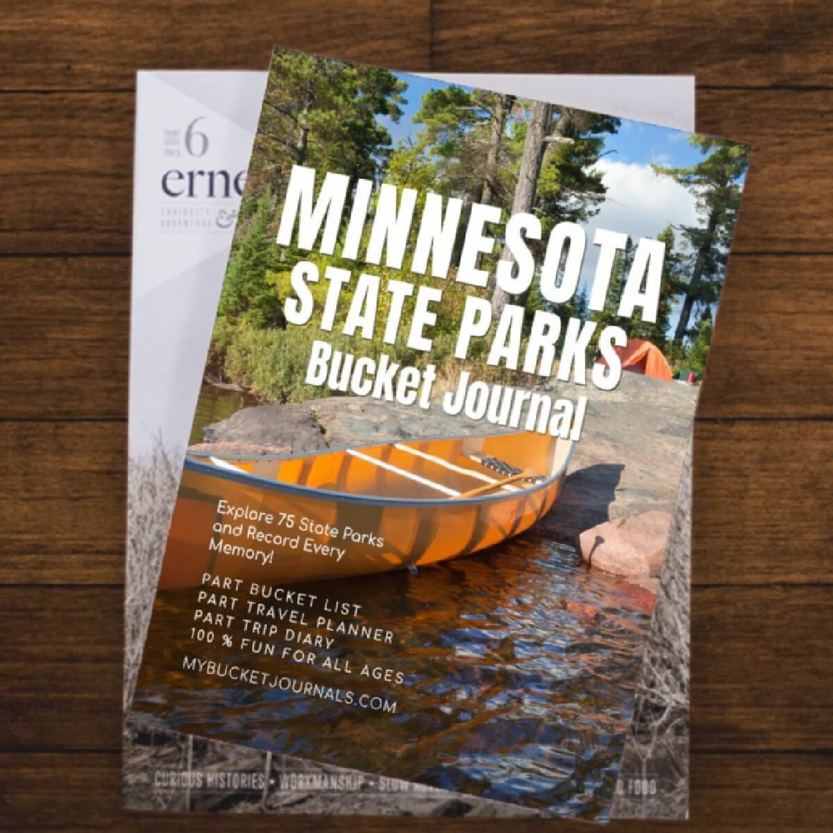 Minnesota State Parks Bucket Journal - Paperback
