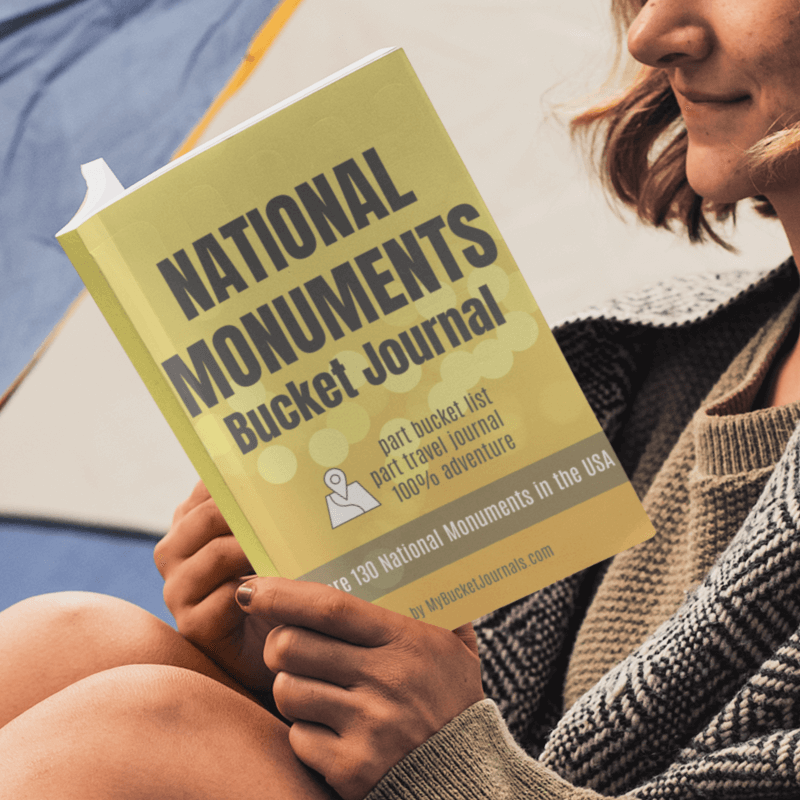 National Monuments Bucket Journal - Paperback