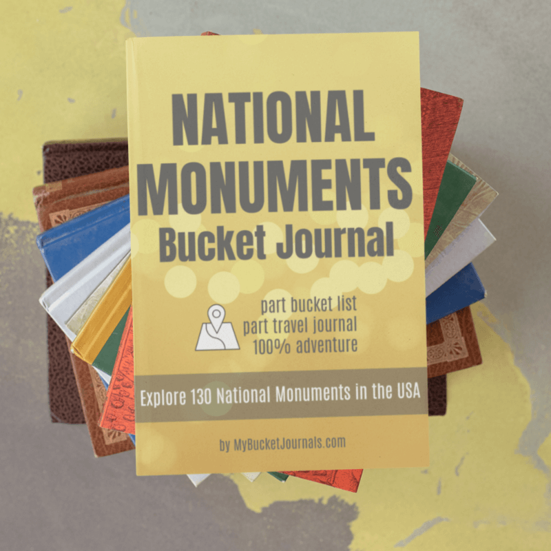 National Monuments Bucket Journal - Digital