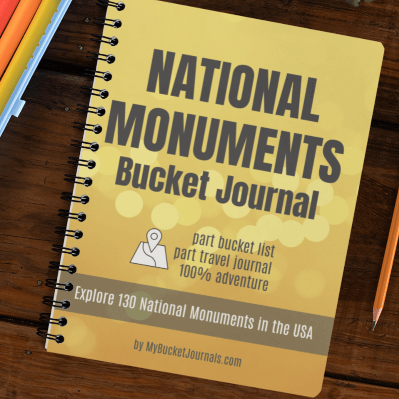 National Monuments Bucket Journal - Spiral