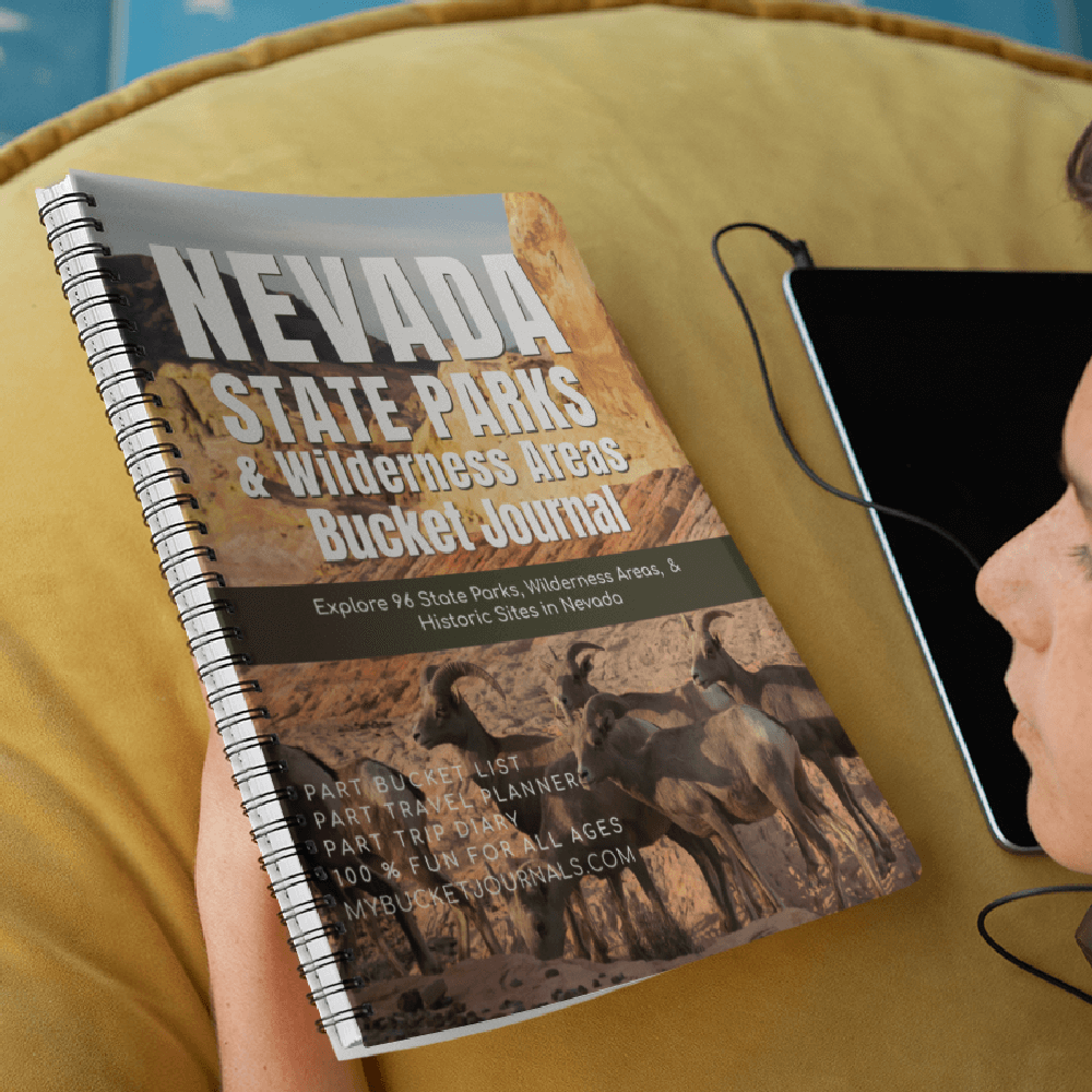 Nevada State Parks & Wilderness Areas Bucket Journal - Spiral