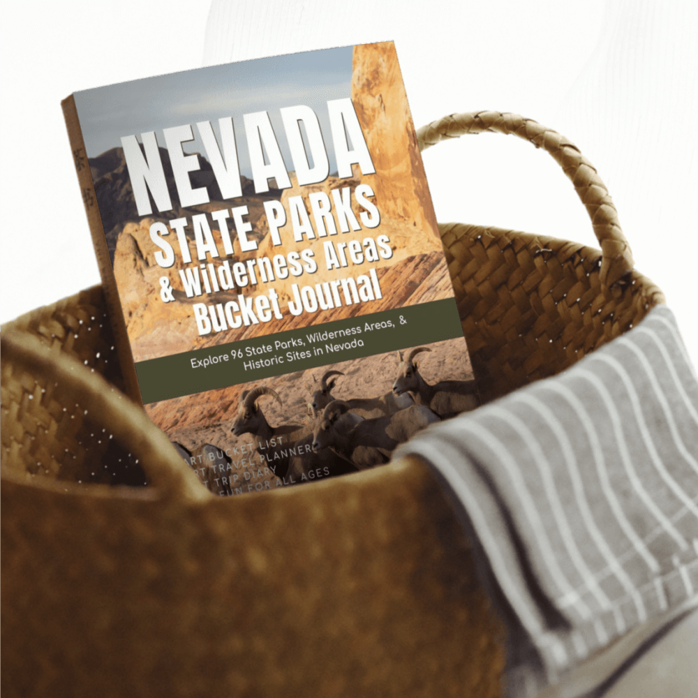 Nevada State Parks & Wilderness Areas Bucket Journal - Paperback