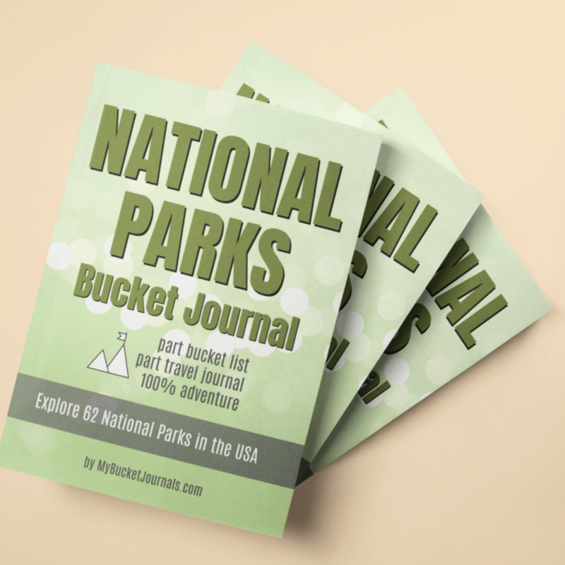 National Parks Bucket Journal - Paperback