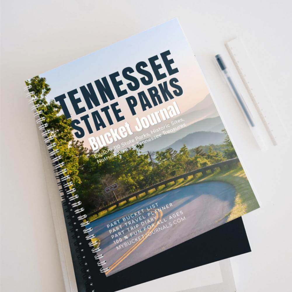 Tennessee State Parks Bucket Journal - Spiral