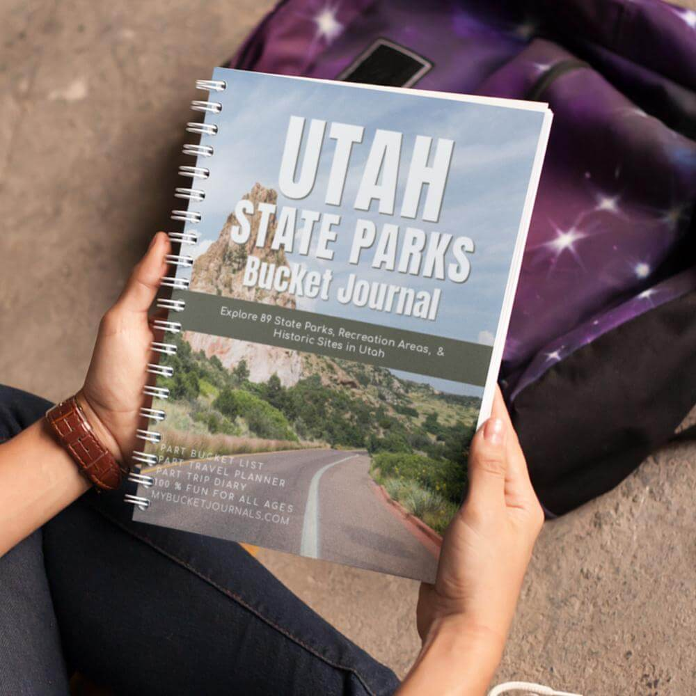 Utah State Parks Bucket Journal - Spiral