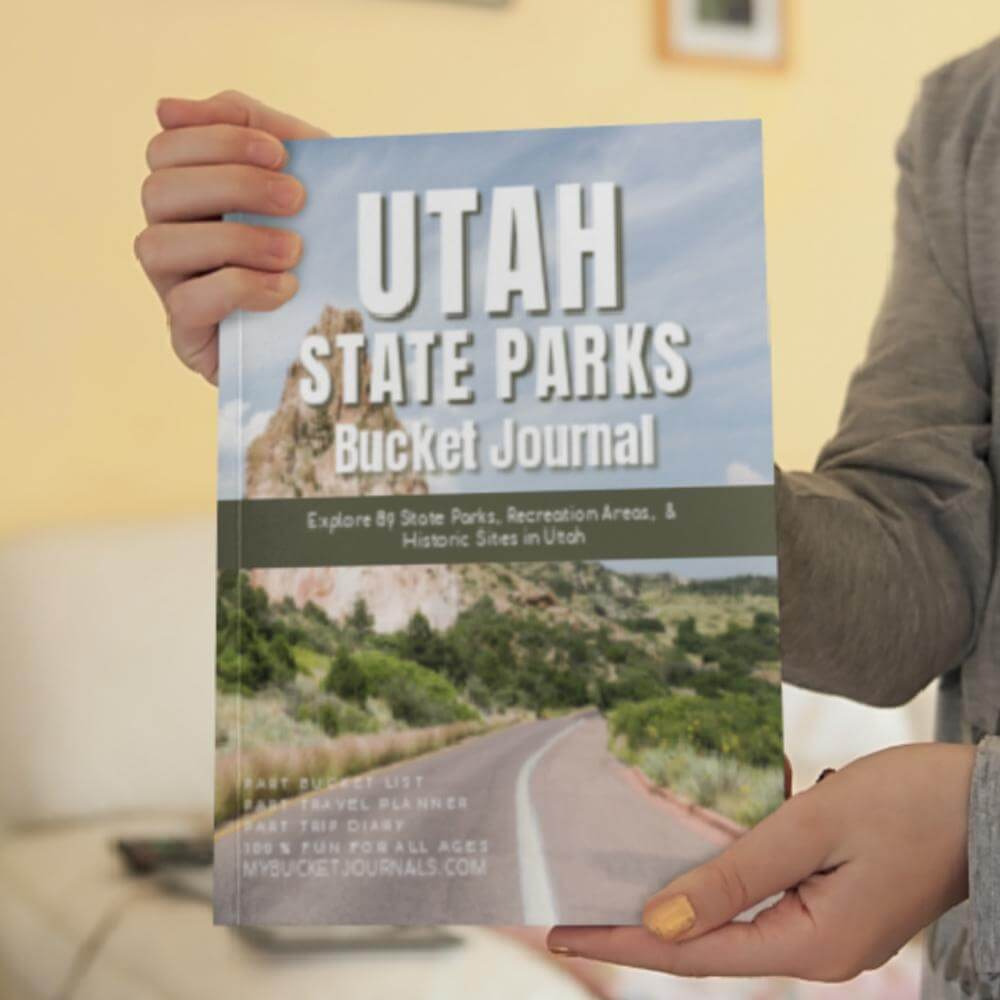 Utah State Parks Bucket Journal - Paperback
