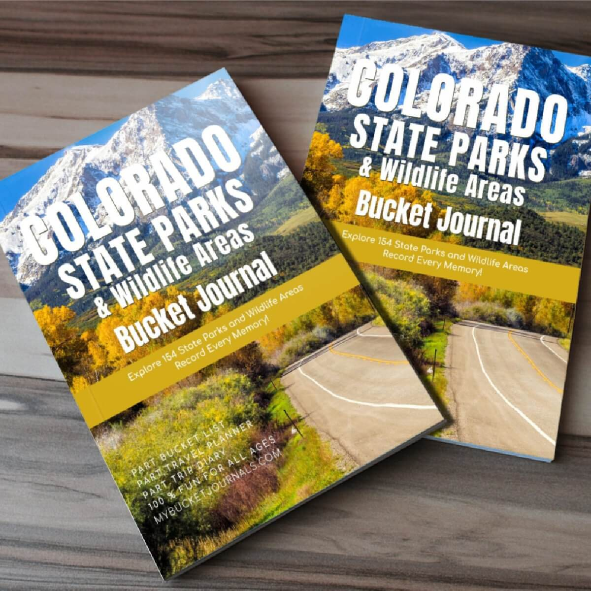Colorado State Parks & Wildlife Areas Bucket Journal - Paperback