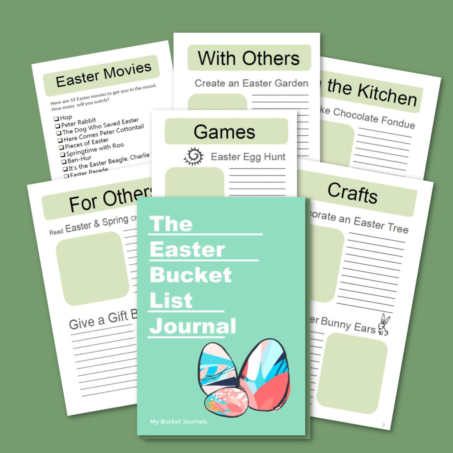 Easter Bucket List Journal - DIGITAL