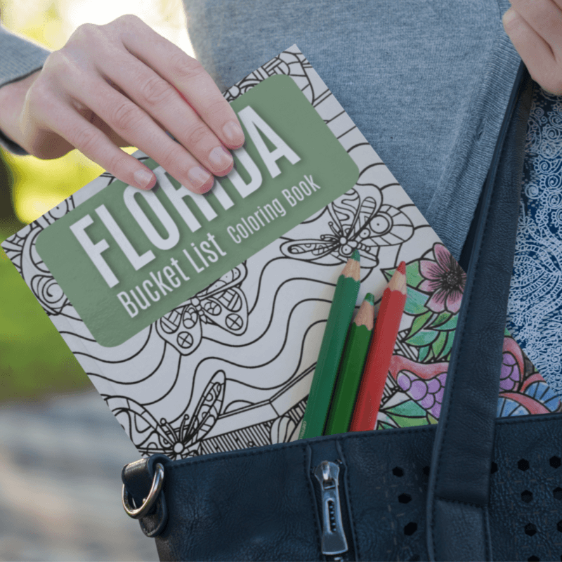 Florida Bucket List Coloring Book - Digital PDF