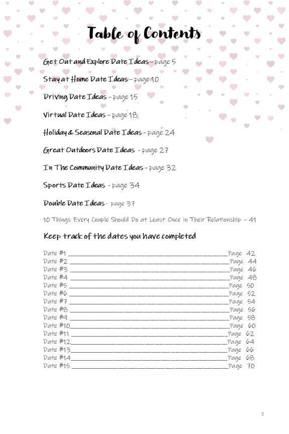 52 Dates Bucket Journal - Digital