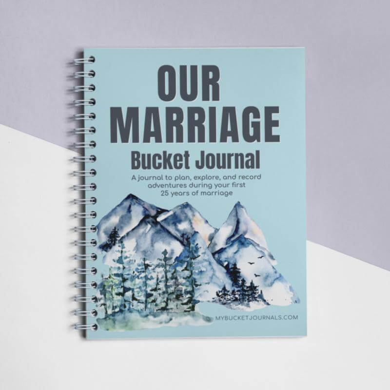 Our Marriage Bucket Journal - Spiral